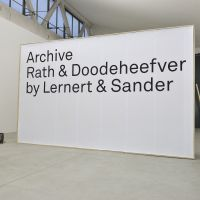 Archive Rath & Doodeheefver by Lernert & Sander. Salone di Mobile, Milaan. Foto Ilco Kemmere