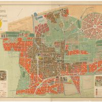 H. P. Berlage. Plan to expand The Hague. Het Nieuwe Instituut collection, BERL 191.161