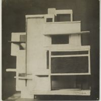 Theo Van Doesburg, Scale model of Maison d'Artiste, 1923, Het Nieuwe Instituut Collection, gift Van Moorsel.