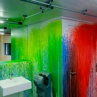 Colour Sprinkles by Rutger de Vries in Het Nieuwe Instituut. Photo Johannes Schwartz.