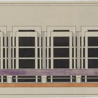Jan Wils, Study for a department store, 1920, Het Nieuwe Instituut Collection.