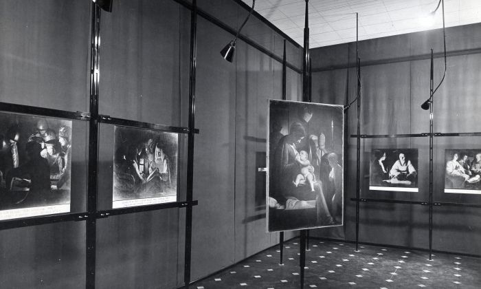 Franco Albini, renovation of Palazzo Bianco gallery space, Genova, 1949-51. Photo © Fondazione Franco Albini