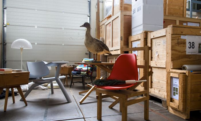 Studio Makkink & Bey, Design Diorama: the Archive as a Utopic Environment. Foto: Petra van der Ree