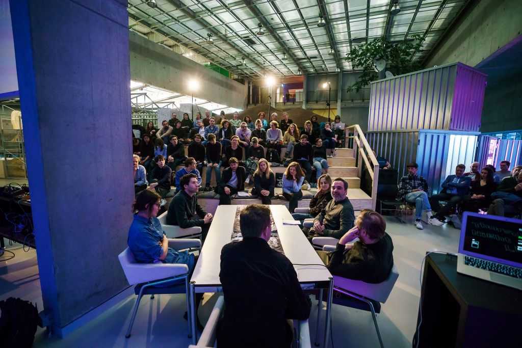 Thursday Night Live! Het Nieuwe Instituut 2018. Foto Matthijs Immink