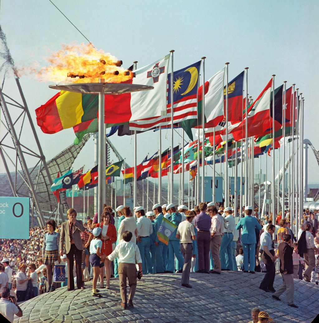Olympic Games, Munich 1972. Photo: BR/ Foto Sessner